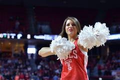 2015 NCAA Basketball - Temple-Tulane Royalty Free Stock Image
