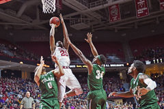 2015 NCAA Basketball - Temple-Tulane Royalty Free Stock Images
