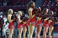 2015 NCAA Basketball - Temple vs Delaware State Royalty Free Stock Photo