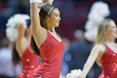 2014 NCAA Basketball - Towson @ Temple Game action Stock Photos