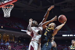 2014 NCAA Basketball - Towson @ Temple Game action Stock Photography