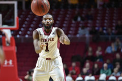2014 NCAA Basketball - Towson @ Temple Game action Royalty Free Stock Photography