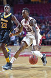 2014 NCAA Basketball - Towson @ Temple Game action Royalty Free Stock Image