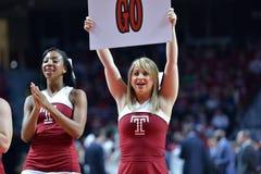 2015 NCAA-Basketball - Viertelfinale-Tempel-La neuer Informationstechnologie tech Lizenzfreies Stockfoto