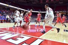 2015 NCAA-Basketball - Viertelfinale-Tempel-La neuer Informationstechnologie tech Lizenzfreie Stockfotografie