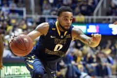 2015 NCAA Basketball - WVU-Oklahoma State Royalty Free Stock Photo