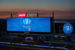2016 NCAA Championship Game - Levi`s Stadium Royalty Free Stock Images