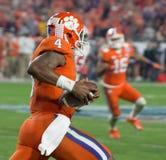 NCAA Clemson Futbolowi tygrysy przy fiesta pucharem Fotografia Stock