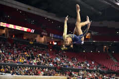 2015 NCAA dam gimnastyki - WVU Obrazy Royalty Free