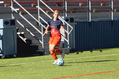 NCAA DIV ΙΙΙ κολλεγίου ποδόσφαιρο των γυναικών Στοκ εικόνες με δικαίωμα ελεύθερης χρήσης