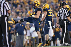 2015 NCAA Football - Ga Southern @ WVU Stock Photography