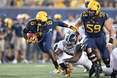 2015 NCAA Football - Ga Southern @ WVU Royalty Free Stock Images