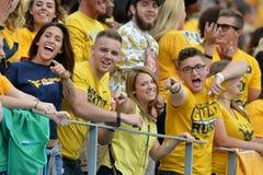 2015 NCAA Football - Maryland @ WVU Royalty Free Stock Images
