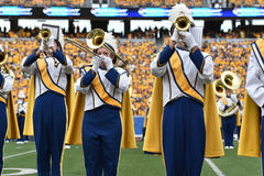 2015 NCAA Football - Maryland @ WVU Royalty Free Stock Photos