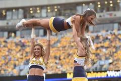 2015 NCAA Football - Maryland @ WVU Royalty Free Stock Image