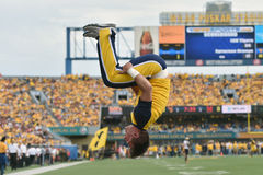 2015 NCAA Football - Maryland @ WVU Royalty Free Stock Photos