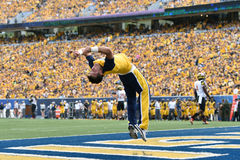 2015 NCAA Football - Maryland @ WVU Royalty Free Stock Image