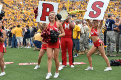 2015 NCAA Football - Maryland @ WVU Stock Photo
