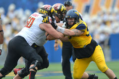 2015 NCAA Football - Maryland @ WVU Royalty Free Stock Photo