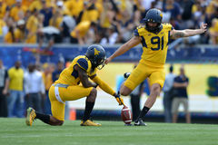 2015 NCAA Football - Maryland @ WVU Royalty Free Stock Images