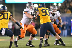 2015 NCAA Football - Oklahoma State at West Virginia Royalty Free Stock Photo