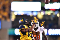 2015 NCAA Football - Oklahoma State at West Virginia Stock Photography