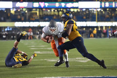2015 NCAA Football - Oklahoma State at West Virginia Stock Images