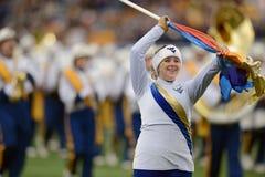 2014 NCAA Football - TCU-WVU Royalty Free Stock Images