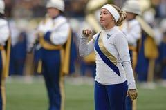 2014 NCAA Football - TCU-WVU Royalty Free Stock Image