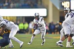 2014 NCAA-fotboll - TCU-WVU Arkivbild