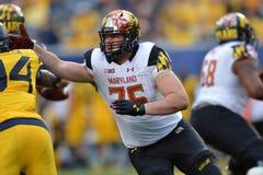 2015 NCAA-Fußball - Maryland @ WVU Lizenzfreie Stockfotografie
