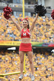 2015 NCAA-Fußball - Maryland @ WVU Stockbild