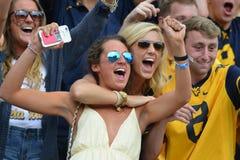 2015 NCAA-Fußball - Maryland @ WVU Lizenzfreies Stockbild