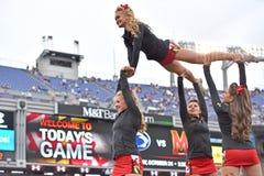 2015 NCAA-Fußball - Penn State gegen maryland Lizenzfreie Stockfotos