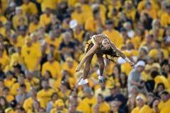 2014 NCAA-Fußball - WVU-Oklahoma Stockfotografie