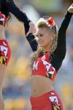 2015 NCAA futbol - Maryland @ WVU Zdjęcie Royalty Free