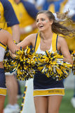 2015 NCAA futbol - Maryland @ WVU Fotografia Stock