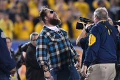 2015 NCAA futbol - Oklahoma stan przy Zachodnia Virginia Zdjęcia Stock