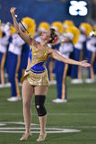 2015 NCAA futbol - Oklahoma stan przy Zachodnia Virginia Obraz Royalty Free