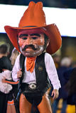 2015 NCAA futbol - Oklahoma stan przy Zachodnia Virginia Zdjęcie Stock
