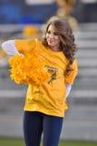 2015 NCAA futbol - Oklahoma stan przy Zachodnia Virginia Fotografia Stock