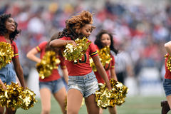 2015 NCAA futbol - Penn stan vs maryland Obrazy Royalty Free