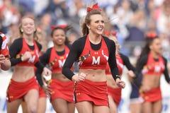 2015 NCAA futbol - Penn stan vs maryland Obraz Royalty Free
