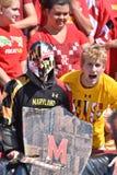 2015 NCAA futbol - USF @ Maryland Fotografia Royalty Free