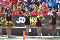 2015 NCAA futbol - USF @ Maryland Fotografia Stock
