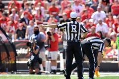 2015 NCAA futbol - USF @ Maryland Obrazy Stock
