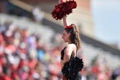 2015 NCAA futbol - USF @ Maryland Zdjęcie Royalty Free
