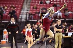 2015 NCAA gimnastyki - Maryland Zdjęcie Stock