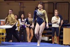 2015 NCAA gimnastyki - Penn stan Zdjęcie Stock