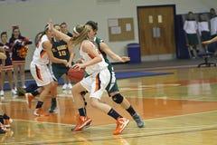NCAA Girls Basketball  Royalty Free Stock Images